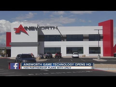 Ainsworth Game Technology opens headquarters in Las Vegas