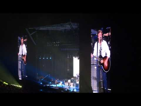 Paul McCartney 32 LOVELY RITA 04/05/13 BH Mineirão Belo Horizonte Brazil 5-4-2013 Beatles