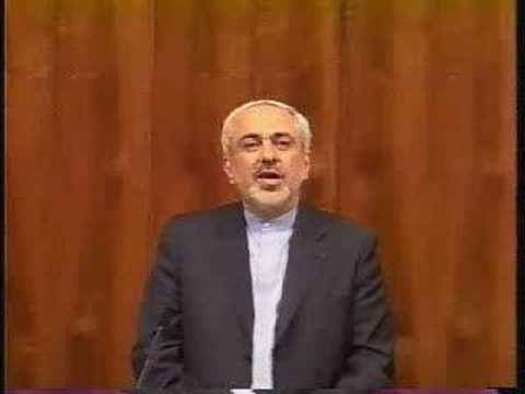 Javad Zarif at Woodrow Wilson Sch. Iran US relations Part 2