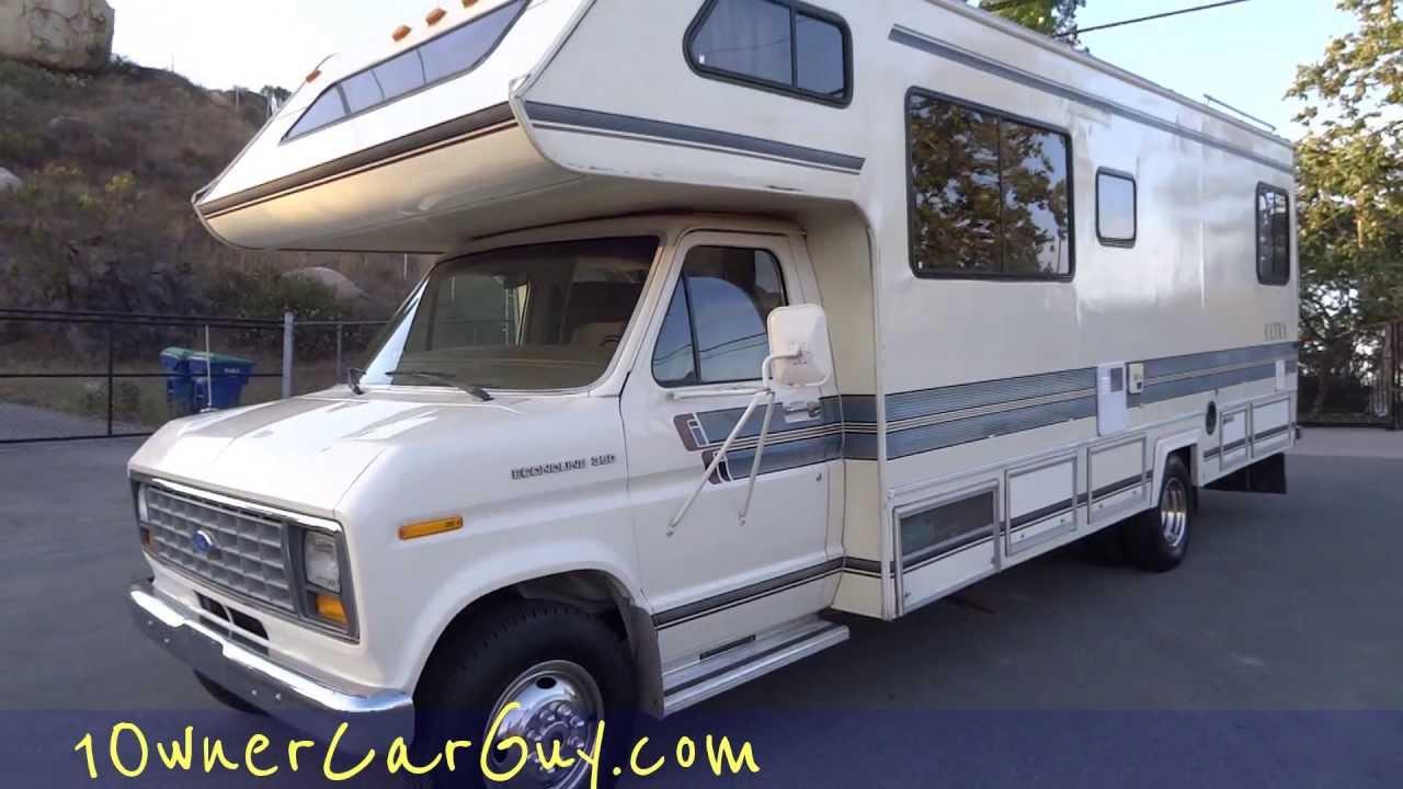 Rv motorhome camper gulf stream ultra coach campervan ford class c b project 2 renovate video