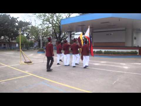 COCC Arellano University- Entrance of Colors ( practice lang! hahaha!)