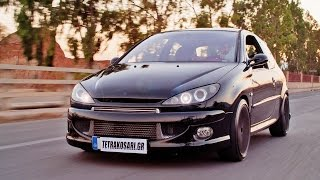 Peugeot 206 Turbo 450hp Diamantis Racing | Autokinisimag
