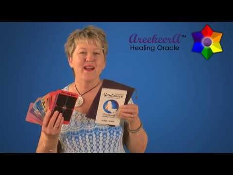 Julie Lewin - AreekeerA Healing Oracle Card Deck + Guidebook