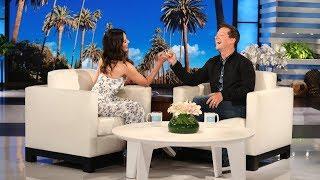 Olivia Munn Talks Ellen's Birthday Party and Her Dissatisfied Mom
