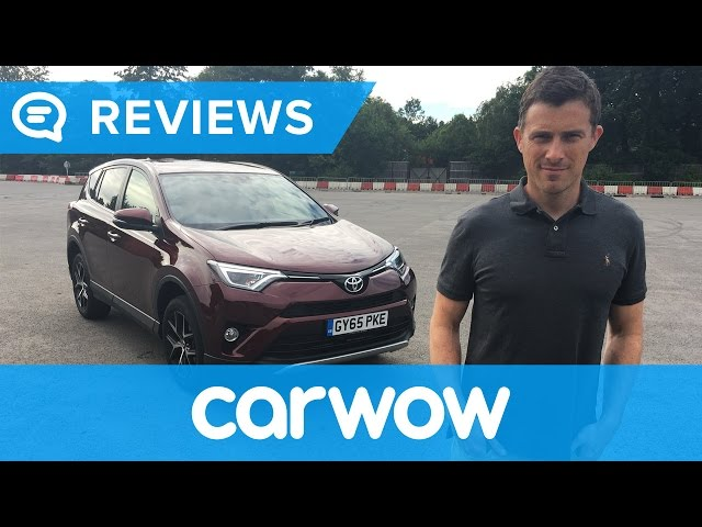 Toyota RAV4 2017 SUV review | Mat Watson Reviews - YouTube