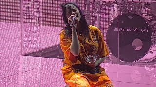 Billie Eilish, When The Party's Over (live), San Francisco, May 29, 2019 (4K)