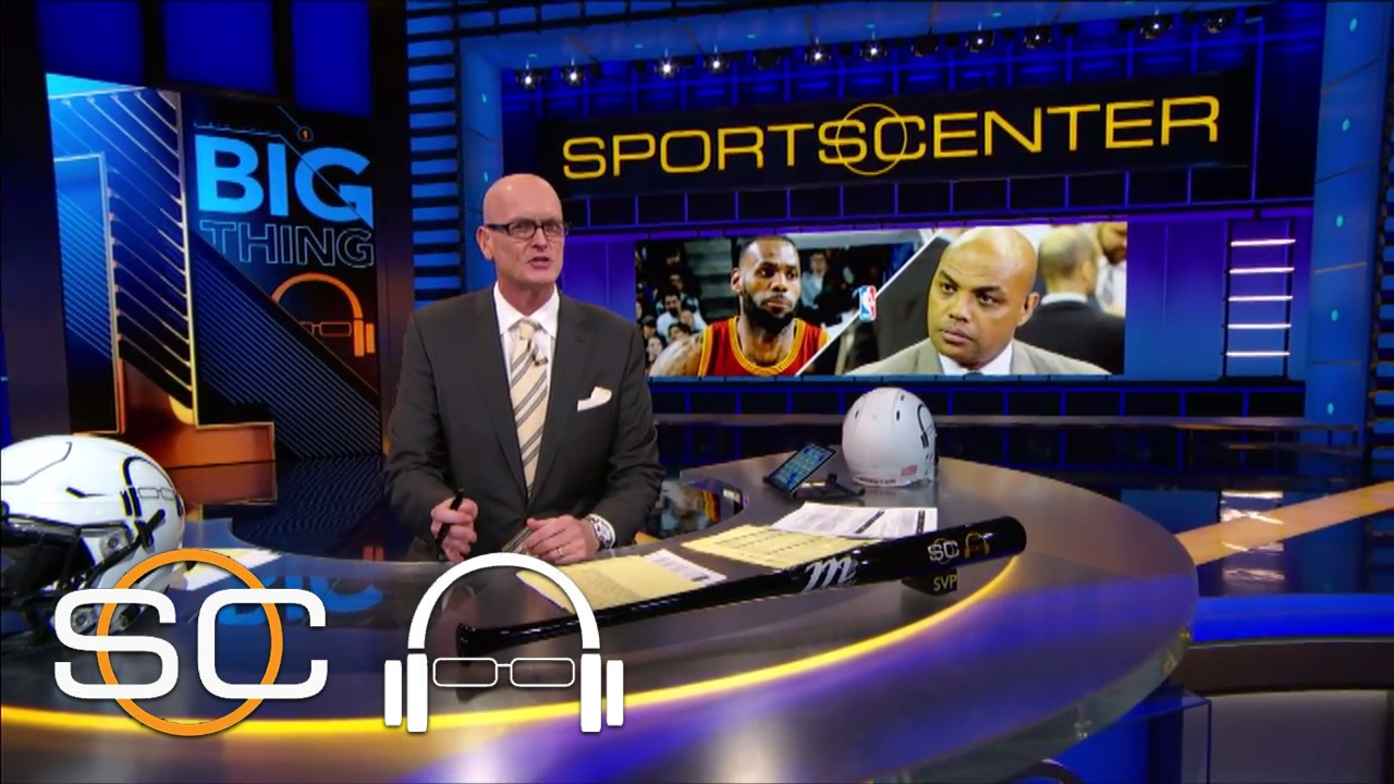 LeBron James Calling Out Charles Barkley Is Rare For Superstars | 1 Big Thing | SC With SVP
