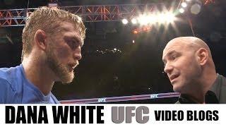 Dana White UFC: Machida Vs Munoz vlog