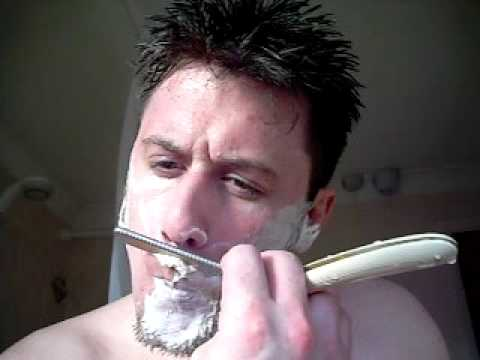 Cut-throat Razor shave