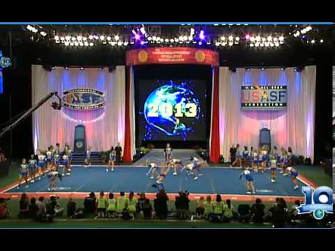 Stingray Allstars Peach Senior Large All-Girl 2013 Worlds Finals