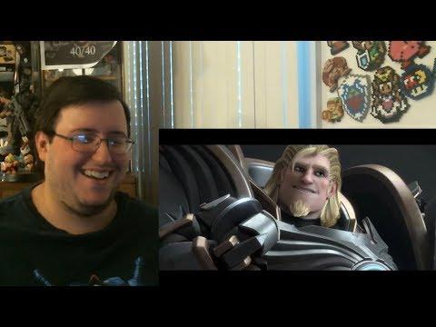 "Gors Overwatch Animated Short ""Honor and Glory"" Reaction #MyBoyReinhardt"