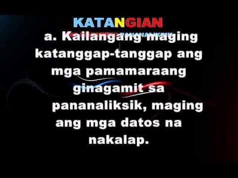 Filipino (Pananaliksik)