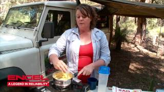 Bush Vanilla Slices - a treat you can make when camping!