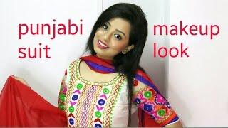 Punjabi suit Makeup tutorial (in Punjabi) CC for subtitle