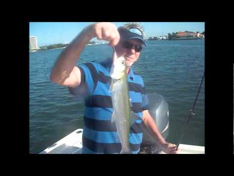Fishing the deep grass flats in Sarasota with Capt Jim Klopfer