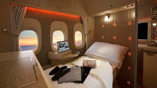 Emirates B777 PHENOMENAL new First Class Suite: a review