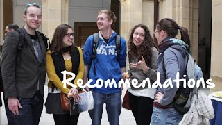Students' recommendations
