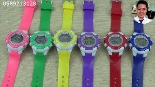 Đồng hồ trẻ em nữ chống nước | Đồng hồ cho bé gái | Đồ chơi trẻ em