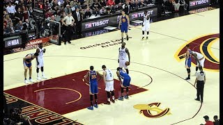 LIVE AT THE NBA FINALS! (CRAZY CLOSE GAME!)