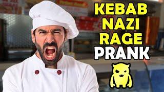 Kebab Nazi RAGE Prank - Ownage Pranks