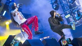 Eminem Video - Eminem & Rihanna - The Monster Tour @ Detroit, Comerica Park 22.08.2014