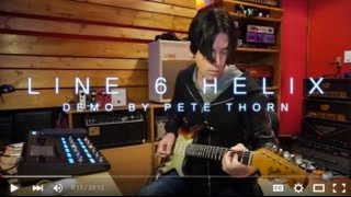 Line 6 Helix, demo by Pete Thorn