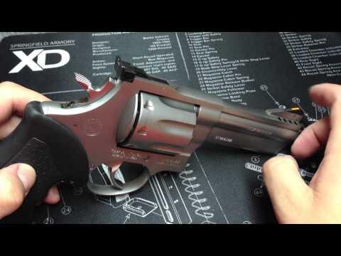 Taurus 608 .357 magnum 8 shot 4 inch ported barrel revolver - part 1