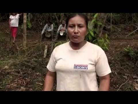 Lidia Alejandra reacts to Chevron suing victims of contamination in Ecuador