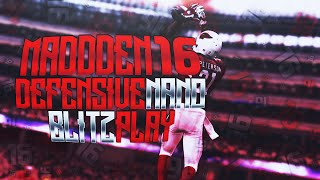 Madden 16: 2/23 BEST POST PATCH UNSTOPPABLE NANO BLITZ! A-GAP & B-GAP NEW SAM BLITZ 2
