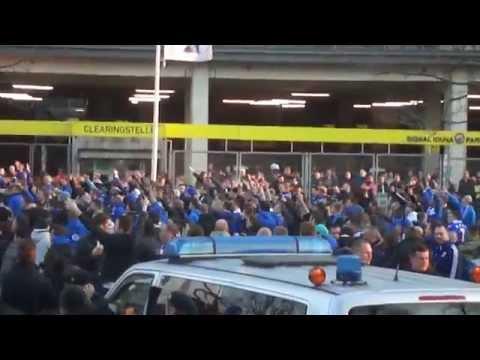 """""""Borussia Dortmund vs. Schalke 04"""" 0:0, das 144.Revierderby, Stimmung vor dem Stadion"""