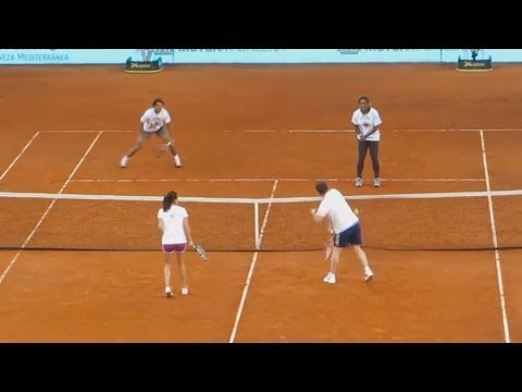 Rafael Nadal Serena Williams vs Iker Casillas Agnieszka Radwanska