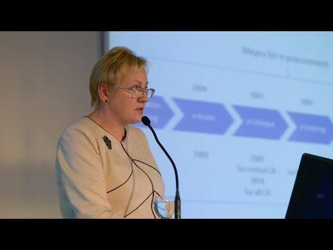 Electronic public procurement: a way to buy more effective - Rasa Noreikienė @ PSE 2013
