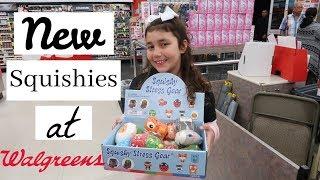 New Squishies + Christmas Shopping Vlog At Walgreens