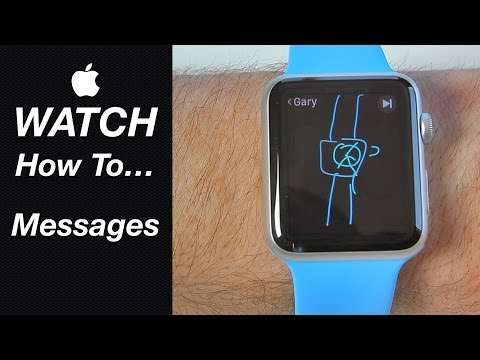 Apple Watch Guide - How To Use Messages