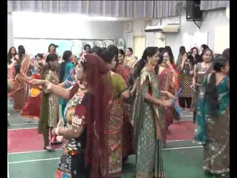 Gujarati Dandiya And Garba Festival In Ras Al Khaimah Uae Pt1 video