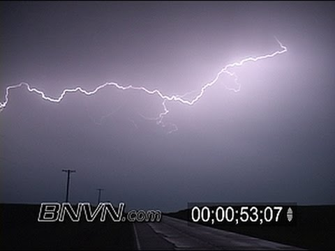 7/21/2004 Lightning Video, Cloud to Cloud - Cloud to Ground