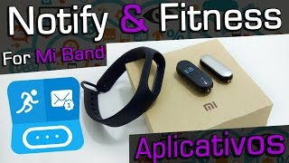 Notify & Fitness for Mi Band APLICATIVOS Mi Band 2