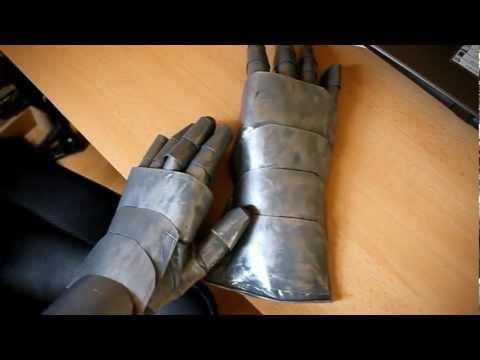Рыцарские доспехи как сделать своими руками