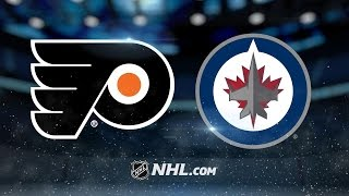 Scheifele, Wheeler lead Jets past Flyers