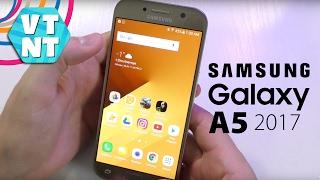 Samsung Galaxy A5 2017 Почти хороший телефон. Обзор рядом с S7 A5 A3