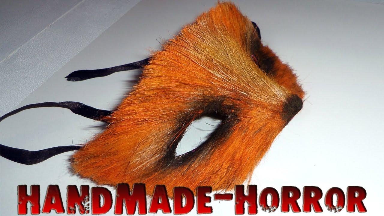 Маска лисы своими руками лисы 1063