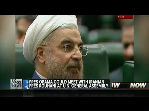 Iran : Obama could meet with Iran's President Hassan Rouhani at the United Nations (Sept 20, 2013)