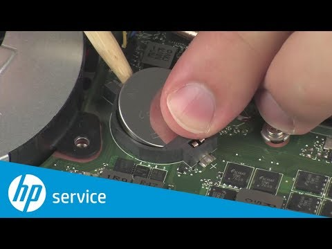 Replace the Real Time Clock (RTC) Battery | HP Pavilion Gaming Notebook | HP