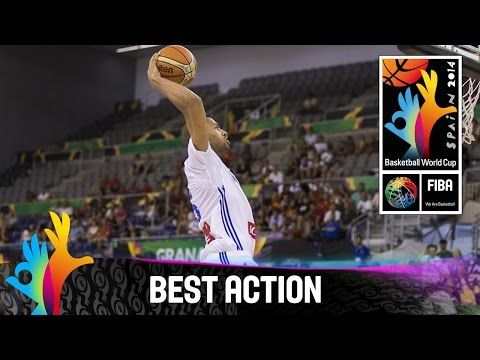 France v Egypt - Best Action - 2014 FIBA Basketball World Cup