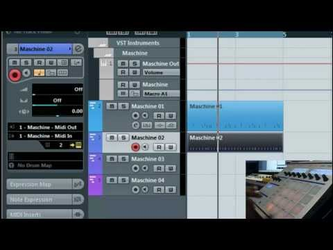 Maschine and Cubase Tips- How to route and sequence midi properly