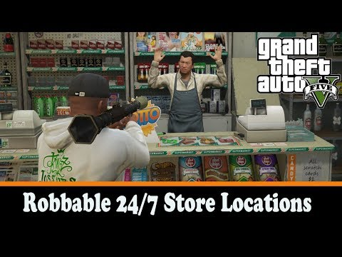 Robbable Store Locations 2.0