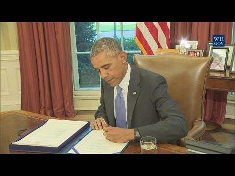 President Obama Signs S. 337 and S. 2328