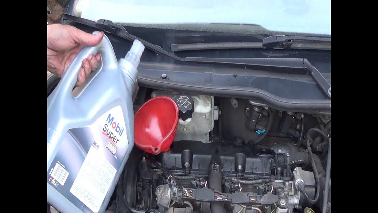 214 Lwechsel Amp 214 Lfilter Wechseln Motor 246 L Ablassen Youtube