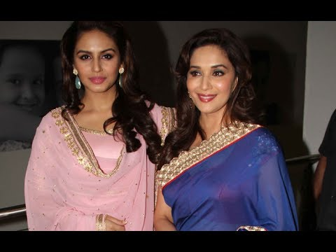 Music Launch Of Dedh Ishqiya With Madhuri Dixit And Huma Qureshi...