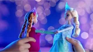 Ice Skating Elsa & Anna Dolls - Disney Frozen - Mattel
